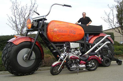 Worlds largest motorcycle