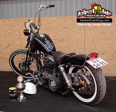 Pinstriped Panhead Chopper