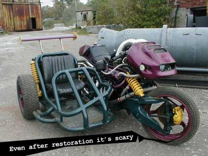 scary motorcycle restored