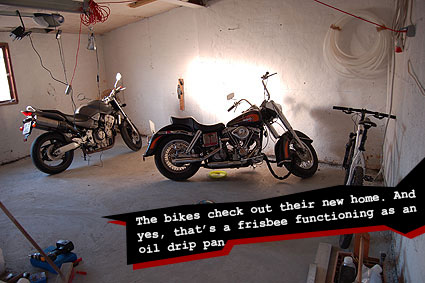 Test your new floor with your bikes