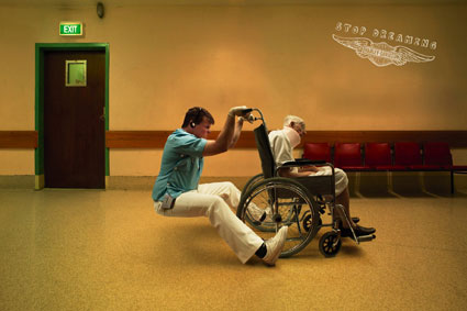 Harley Davidson stop dreaming wheelchair