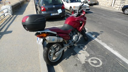 Most common type of motorcycle in Cannes