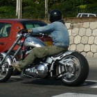 The only custom chopper I've seen here so far